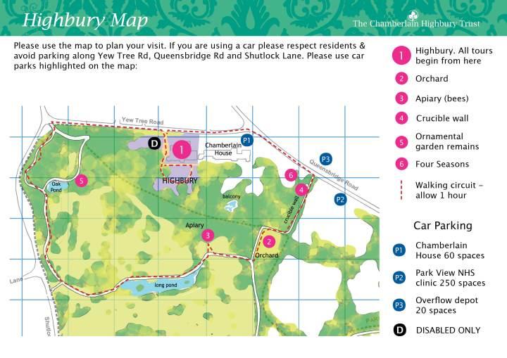 Highbury Map & Programme FINAL