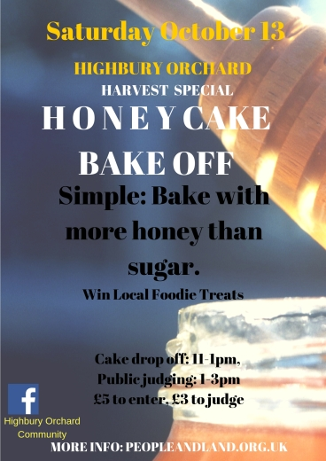 HoneyCake Bake off